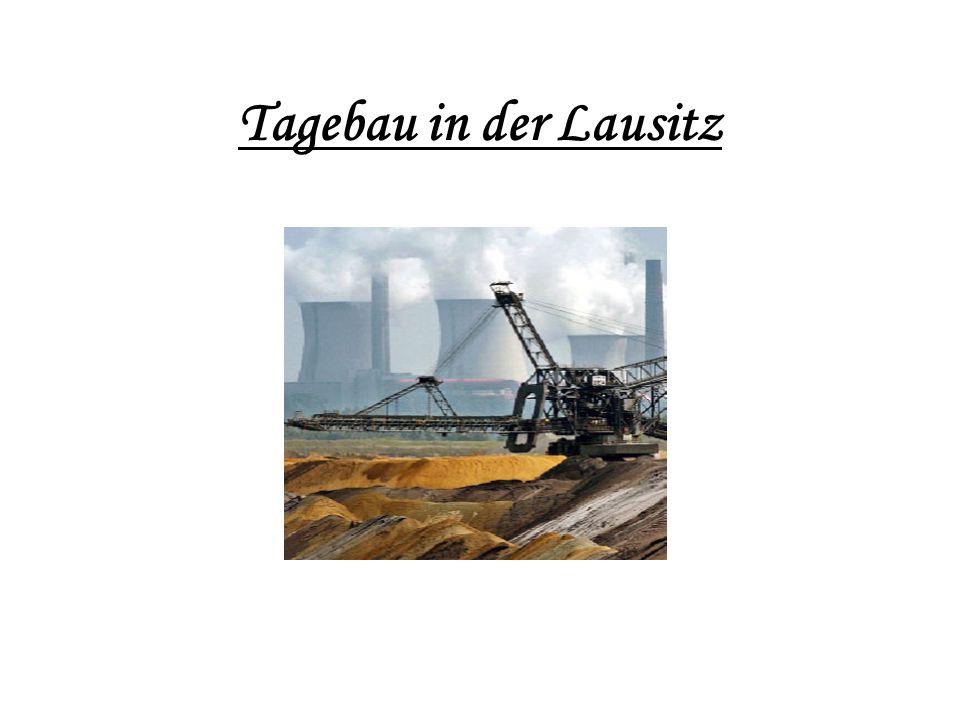 Tagebau in der Lausitz