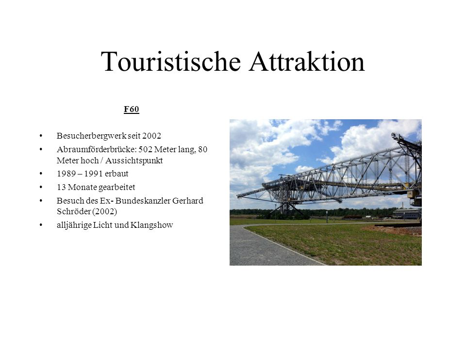 Touristische Attraktion