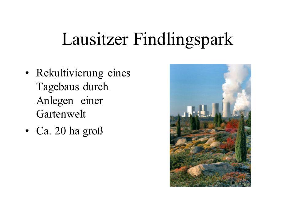 Lausitzer Findlingspark
