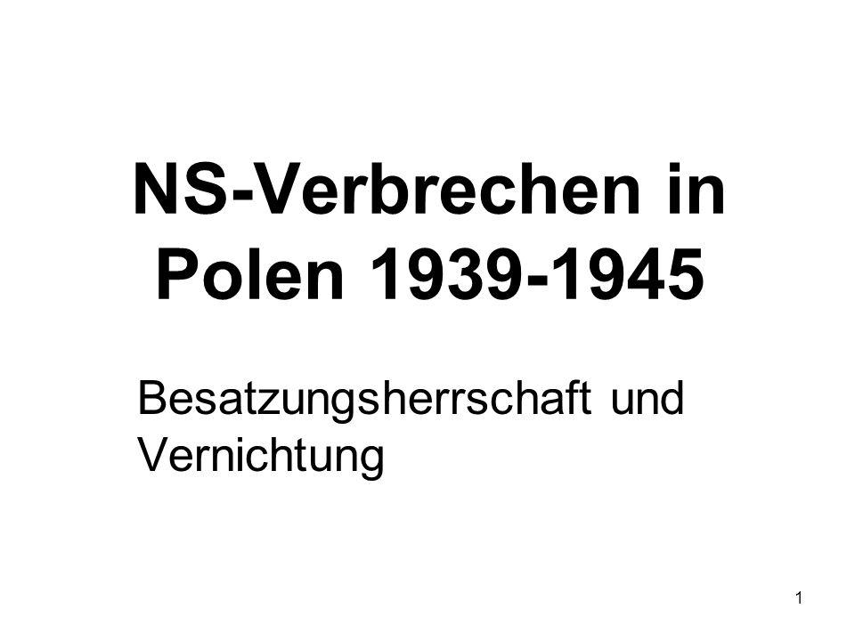 NS-Verbrechen in Polen 1939-1945
