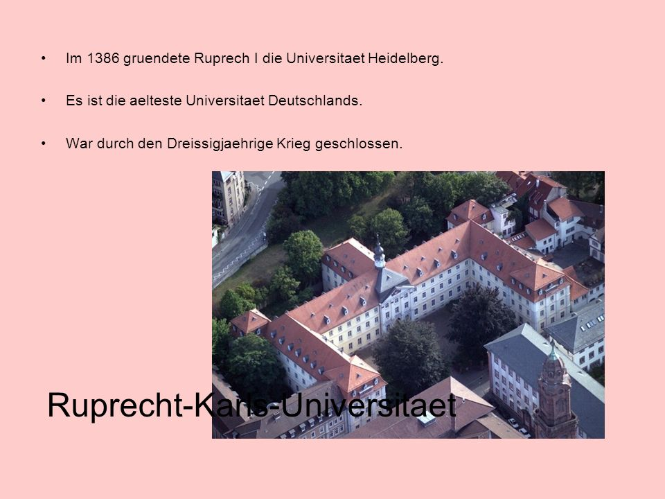 Ruprecht-Karls-Universitaet