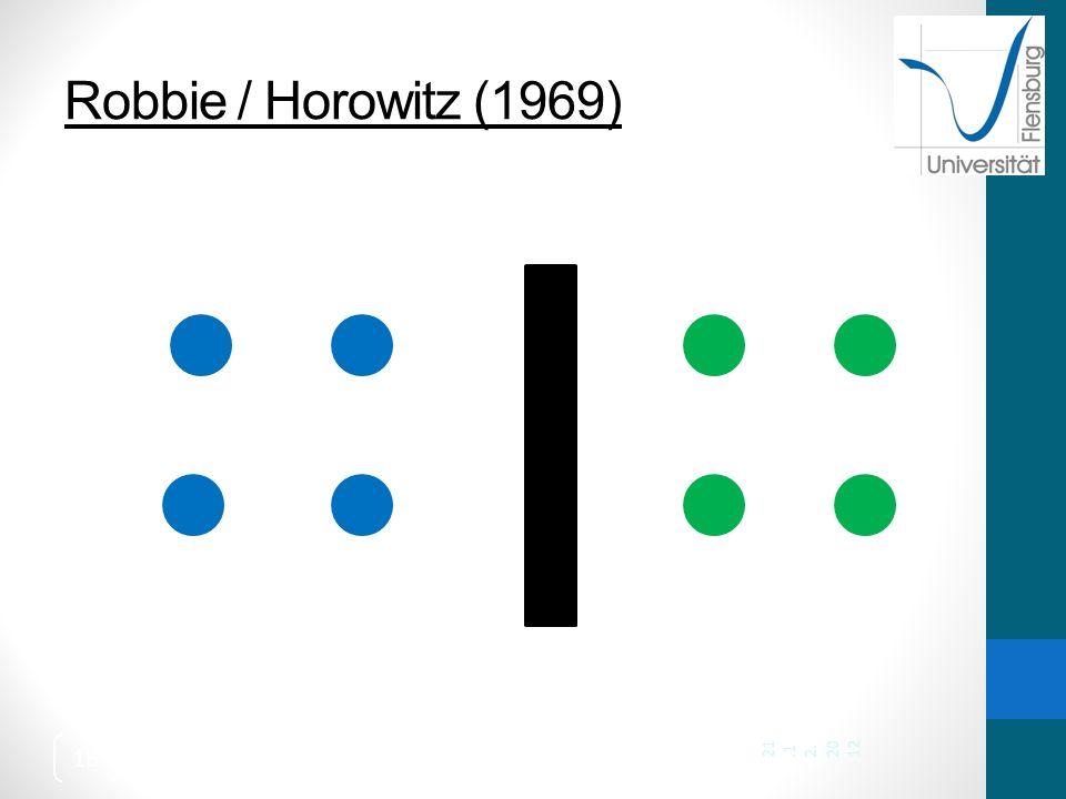 Robbie / Horowitz (1969) 21.12.2012