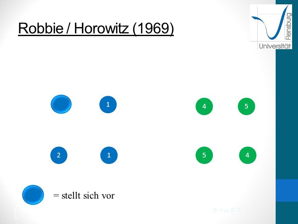 Robbie / Horowitz (1969) 1 4 5 2 1 5 4 21.12.2012 = stellt sich vor