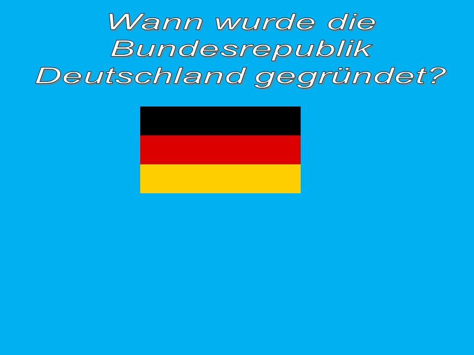 Deutschland gegründet