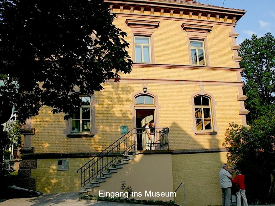 Eingang ins Museum