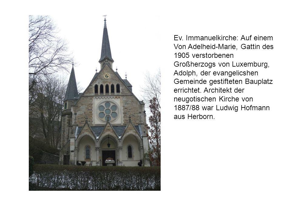 Ev. Immanuelkirche: Auf einem