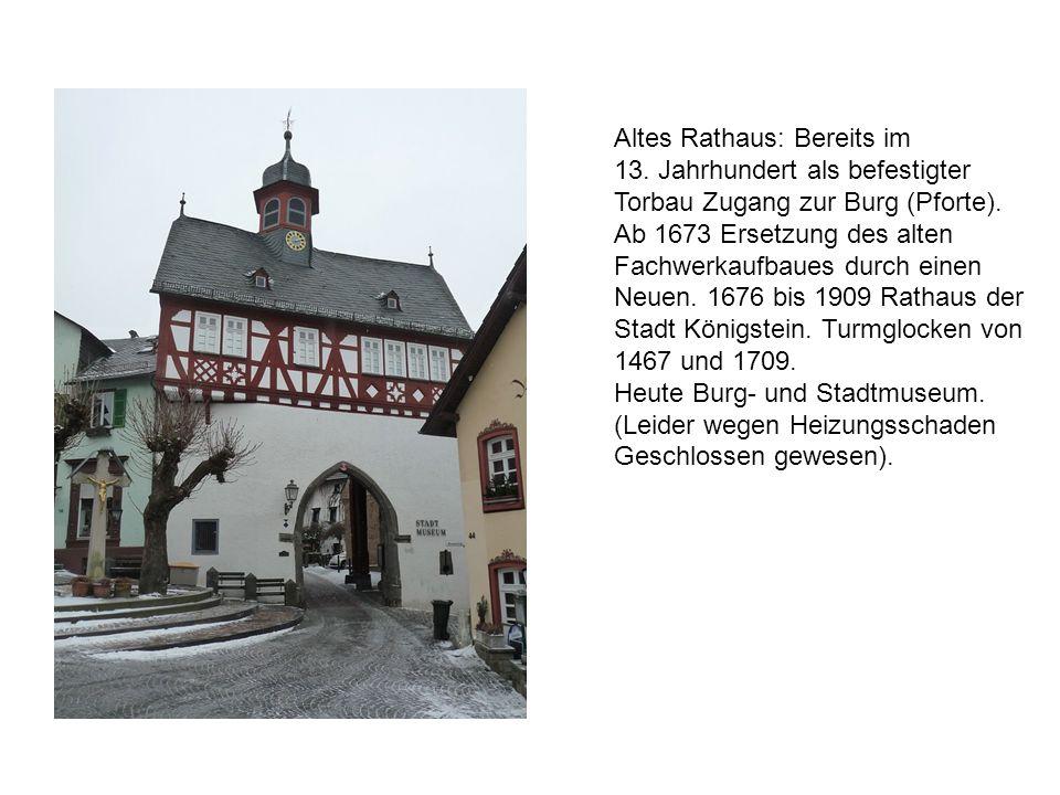 Altes Rathaus: Bereits im