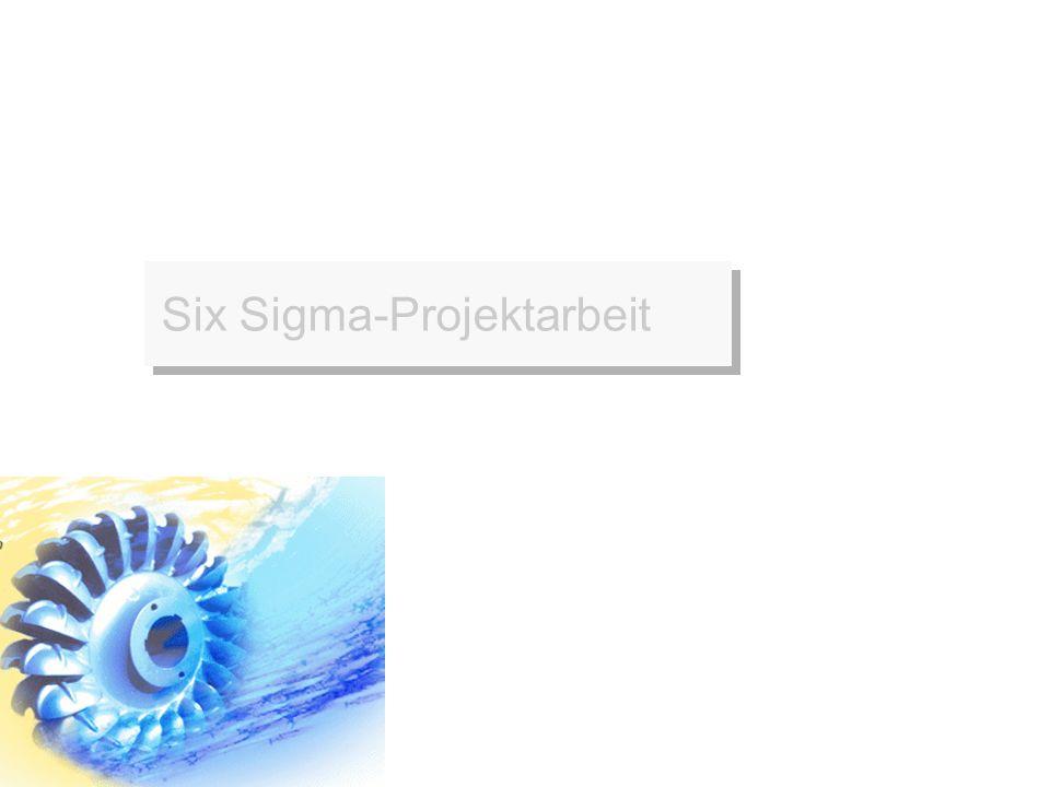 Erfolgsfaktoren für Six Sigma-Programme