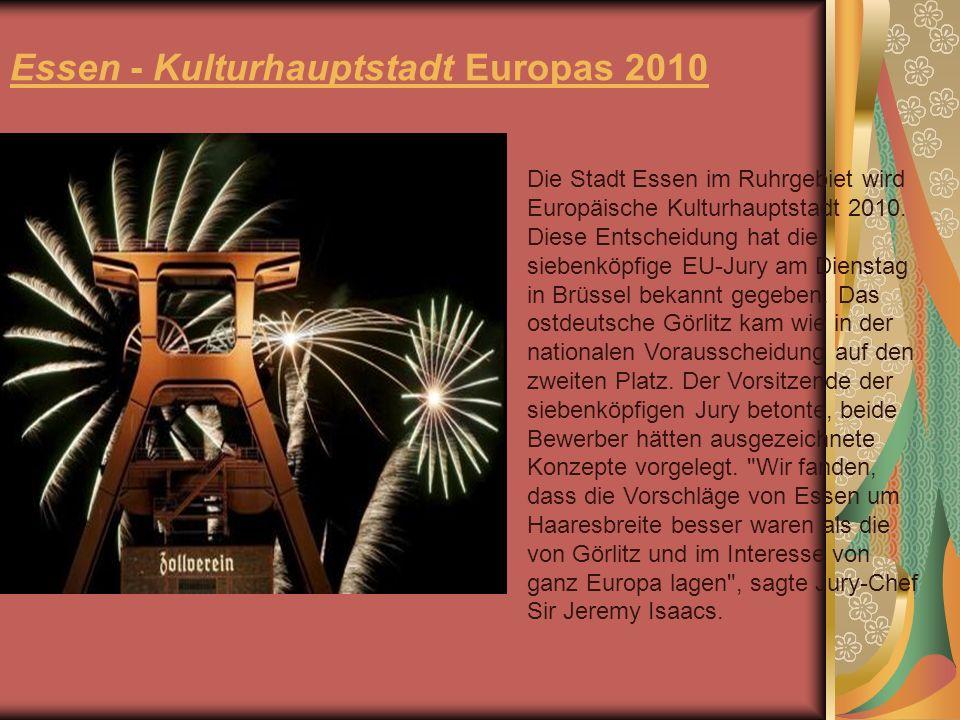 Essen - Kulturhauptstadt Europas 2010