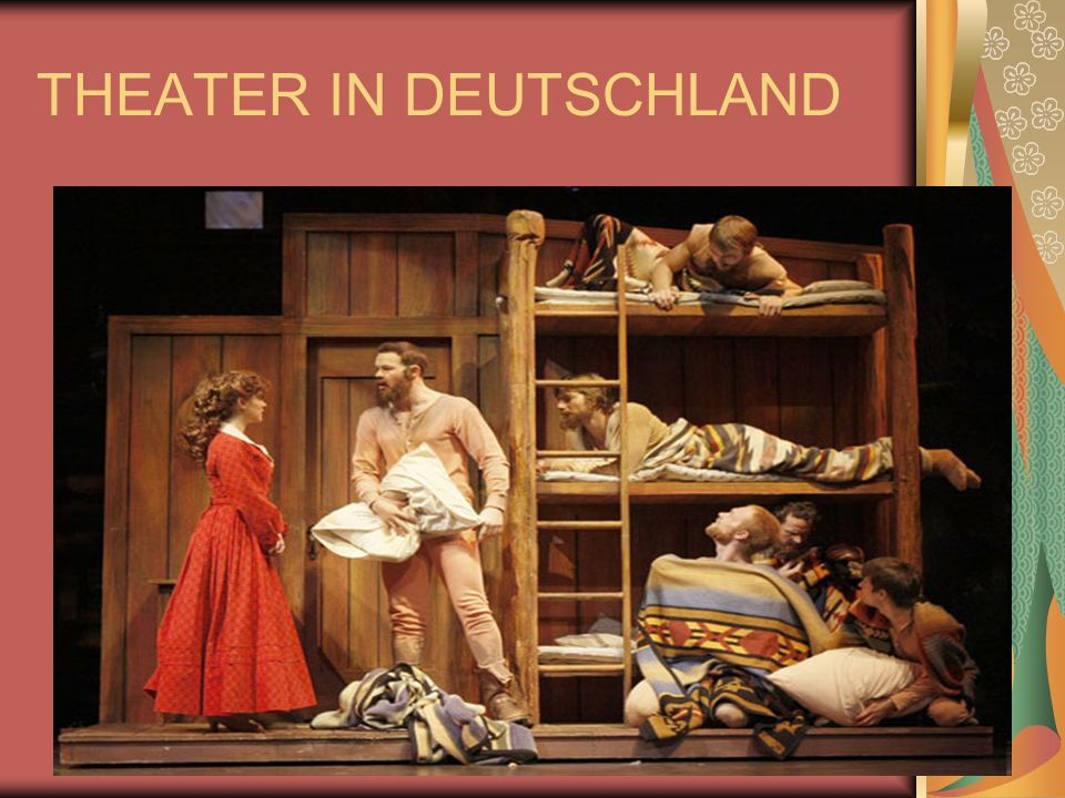 THEATER IN DEUTSCHLAND