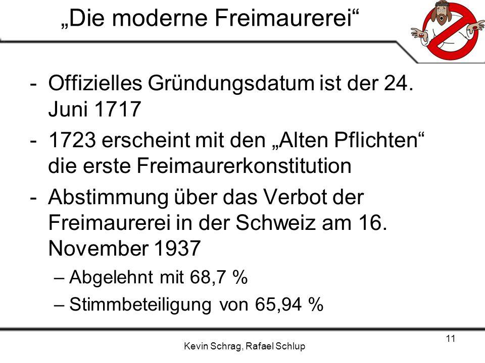 """""""Die moderne Freimaurerei"""