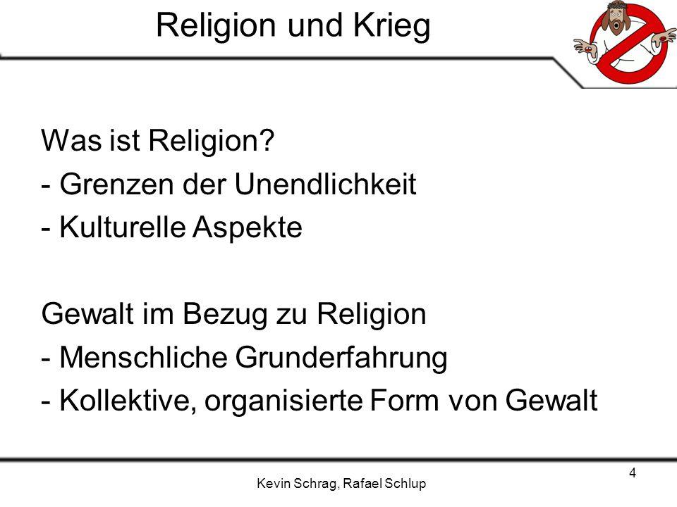 Religion und Krieg Was ist Religion - Grenzen der Unendlichkeit