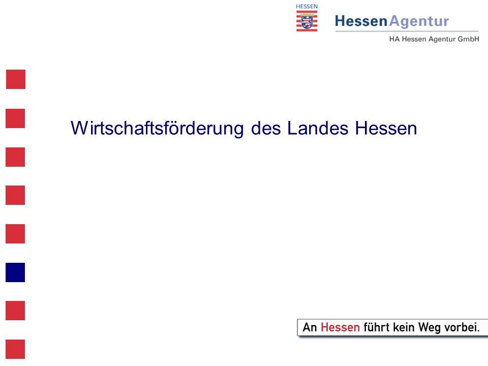 Wirtschaftsförderung des Landes Hessen