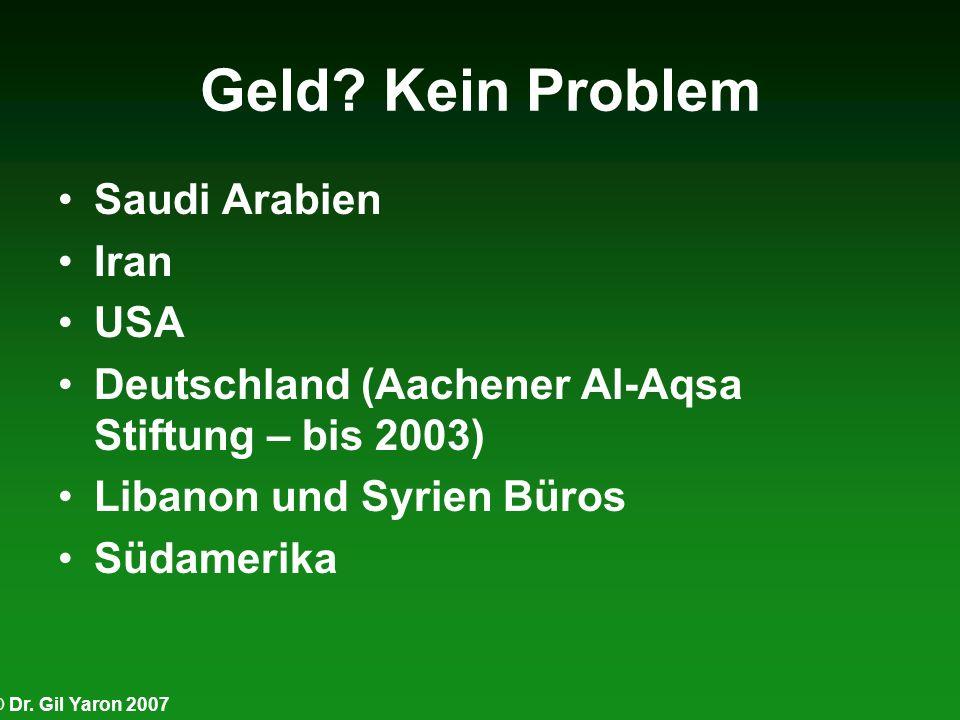 Geld Kein Problem Saudi Arabien Iran USA