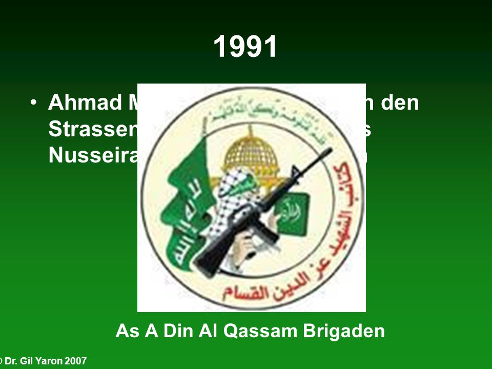 As A Din Al Qassam Brigaden