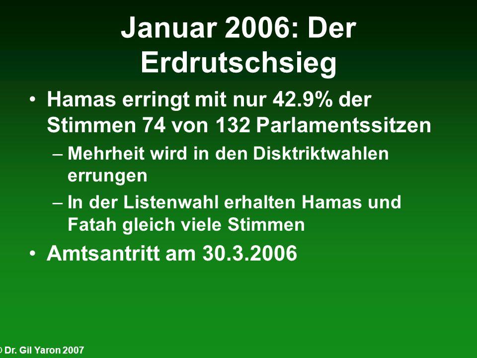 Januar 2006: Der Erdrutschsieg