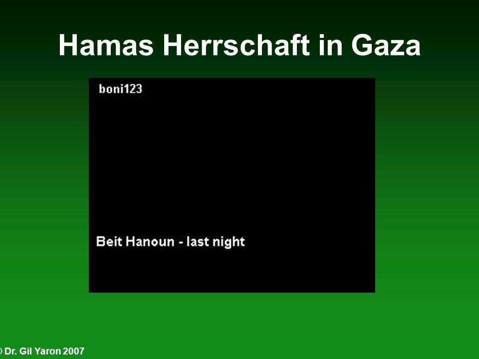 Hamas Herrschaft in Gaza