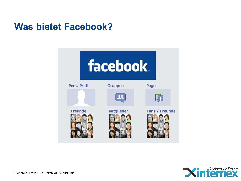 Was bietet Facebook