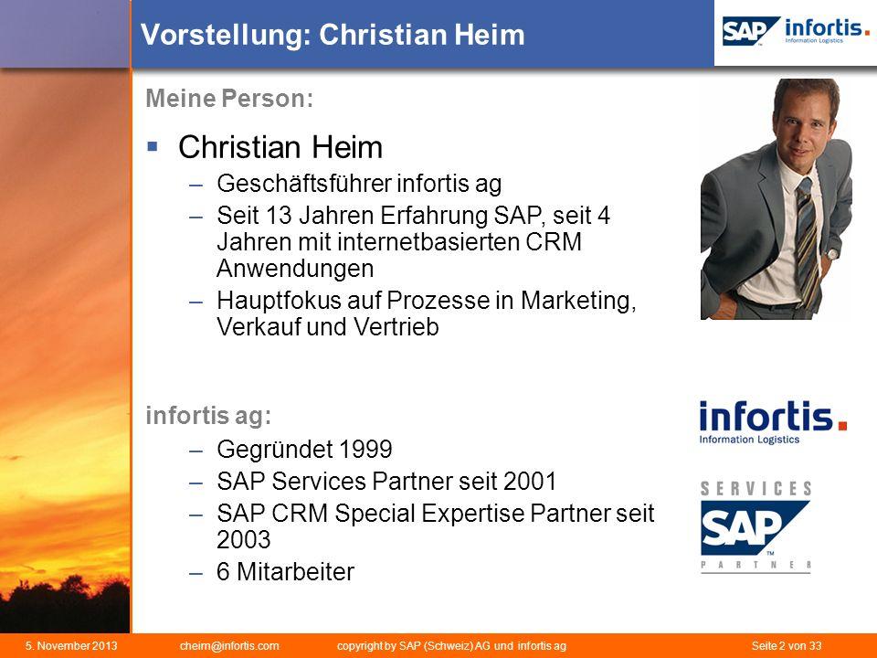Vorstellung: Christian Heim