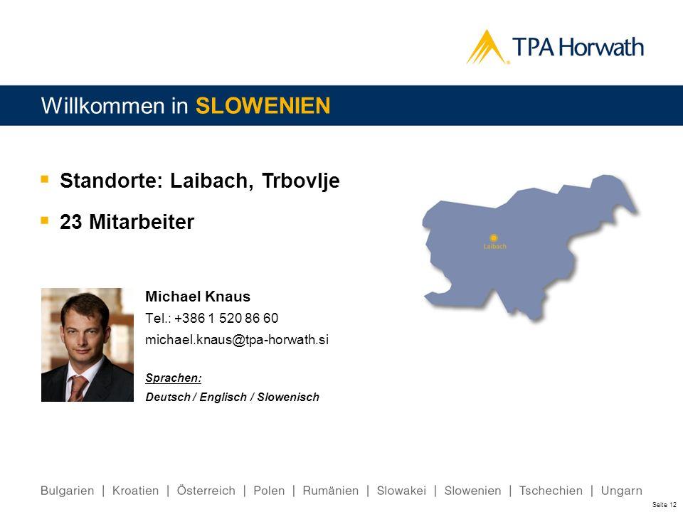 Willkommen in SLOWENIEN