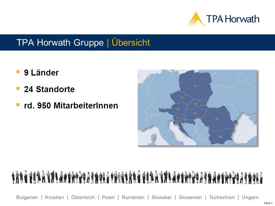 TPA Horwath Gruppe | Übersicht