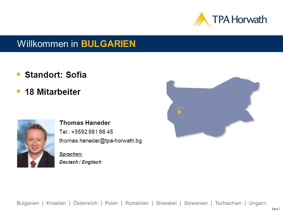 Willkommen in BULGARIEN