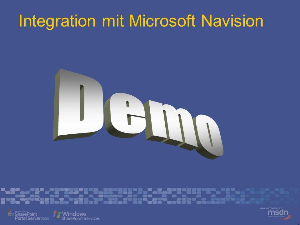 Integration mit Microsoft Navision