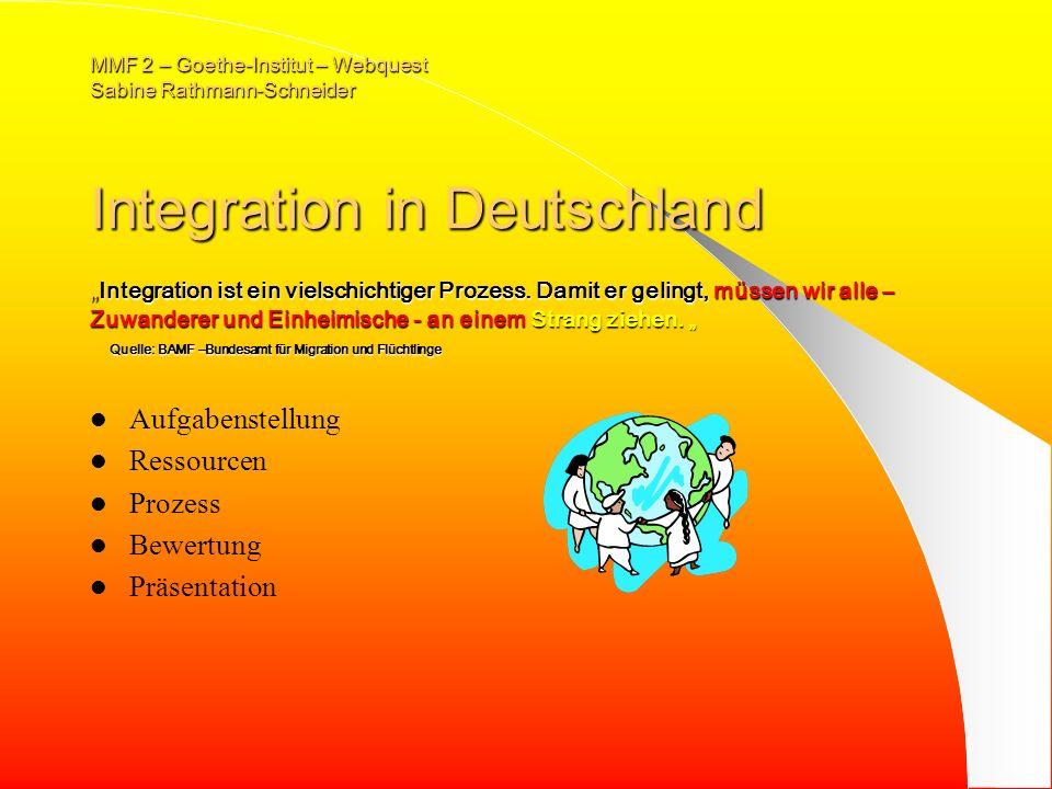 MMF 2 – Goethe-Institut – Webquest Sabine Rathmann-Schneider