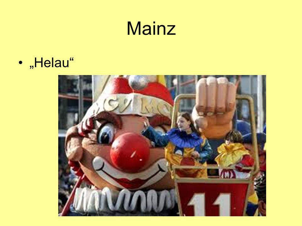 """Mainz """"Helau"""