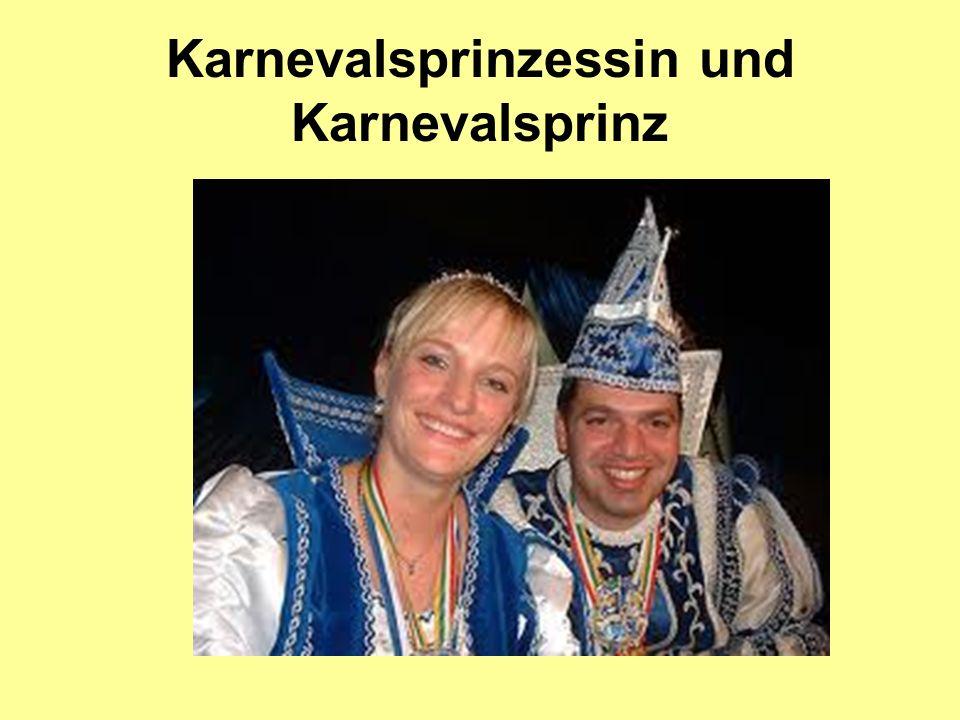 Karnevalsprinzessin und Karnevalsprinz
