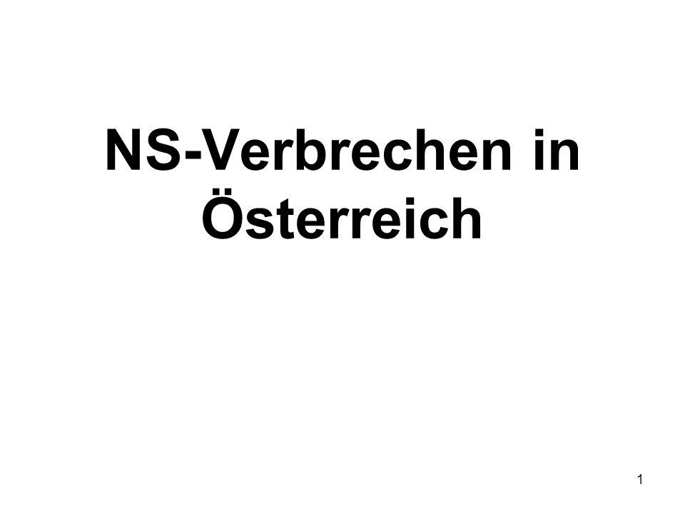 NS-Verbrechen in Österreich