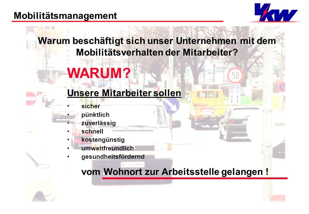 WARUM Mobilitätsmanagement