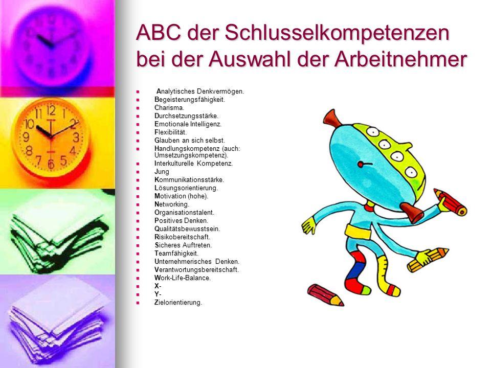ABC der Schlusselkompetenzen bei der Auswahl der Arbeitnehmer