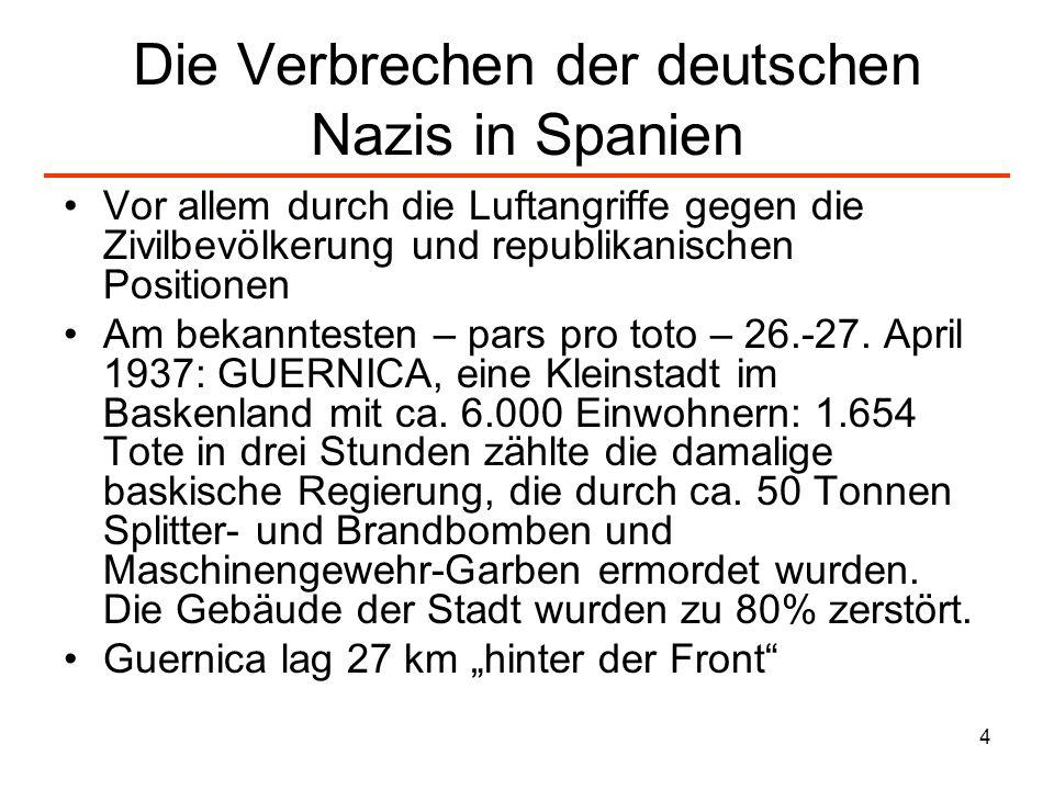 Die Verbrechen der deutschen Nazis in Spanien
