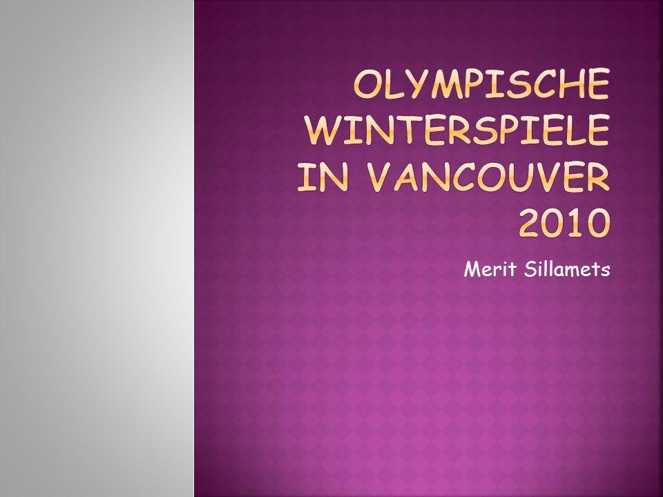Olympische Winterspiele in Vancouver 2010