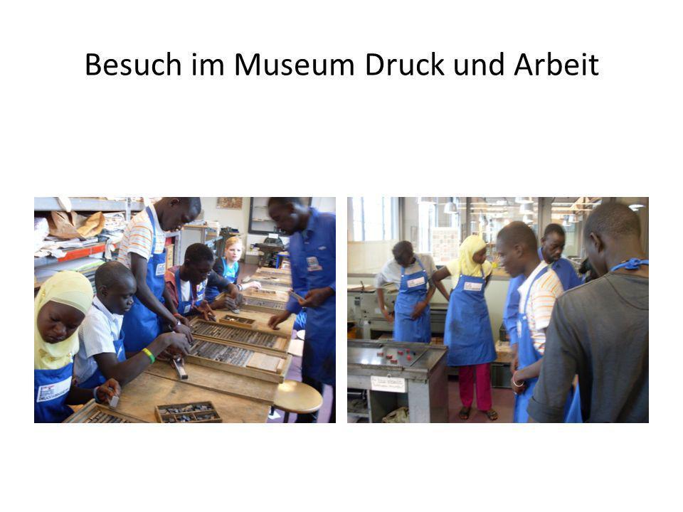 Besuch im Museum Druck und Arbeit