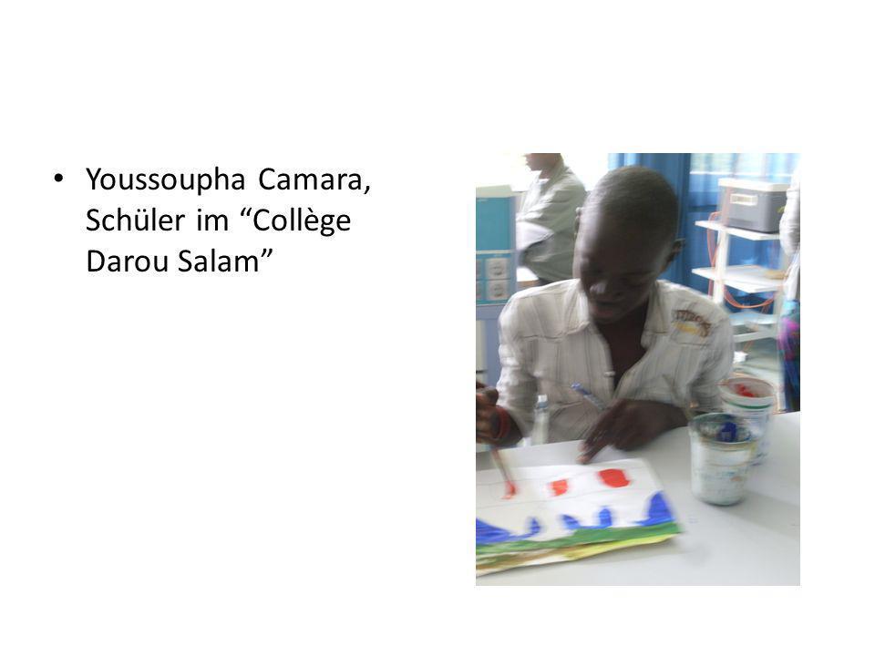 Youssoupha Camara, Schüler im Collège Darou Salam