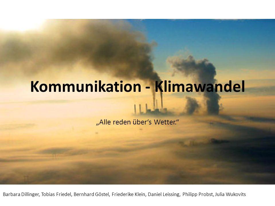 Kommunikation - Klimawandel