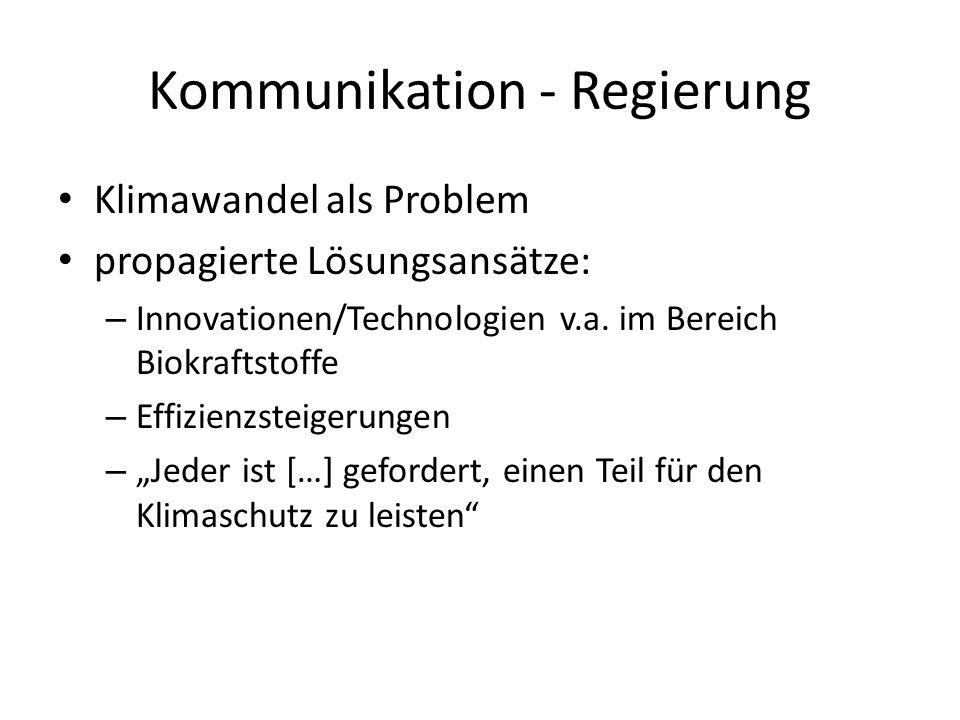 Kommunikation - Regierung