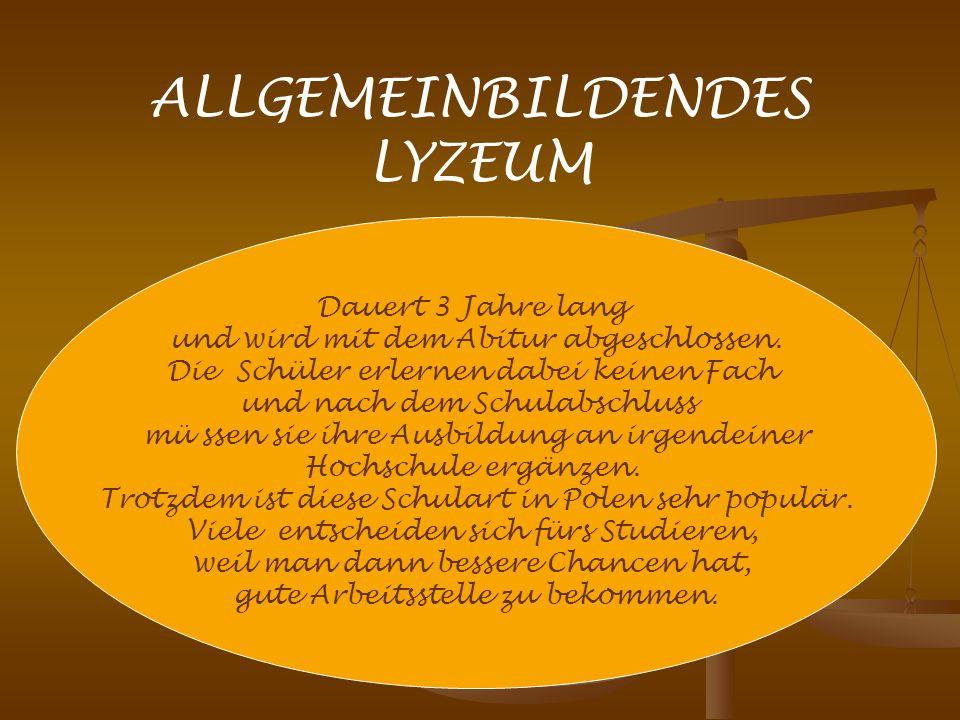ALLGEMEINBILDENDES LYZEUM