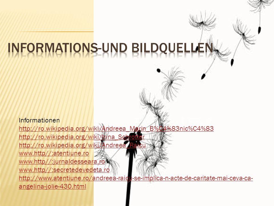 Informations-und Bildquellen