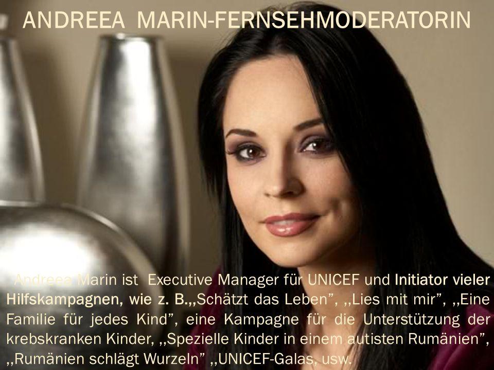 ANDREEA MARIN-FERNSEHMODERATORIN