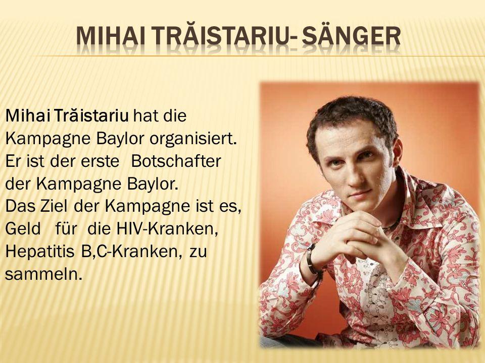 Mihai Trăistariu- Sänger