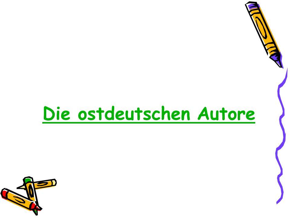 Die ostdeutschen Autore