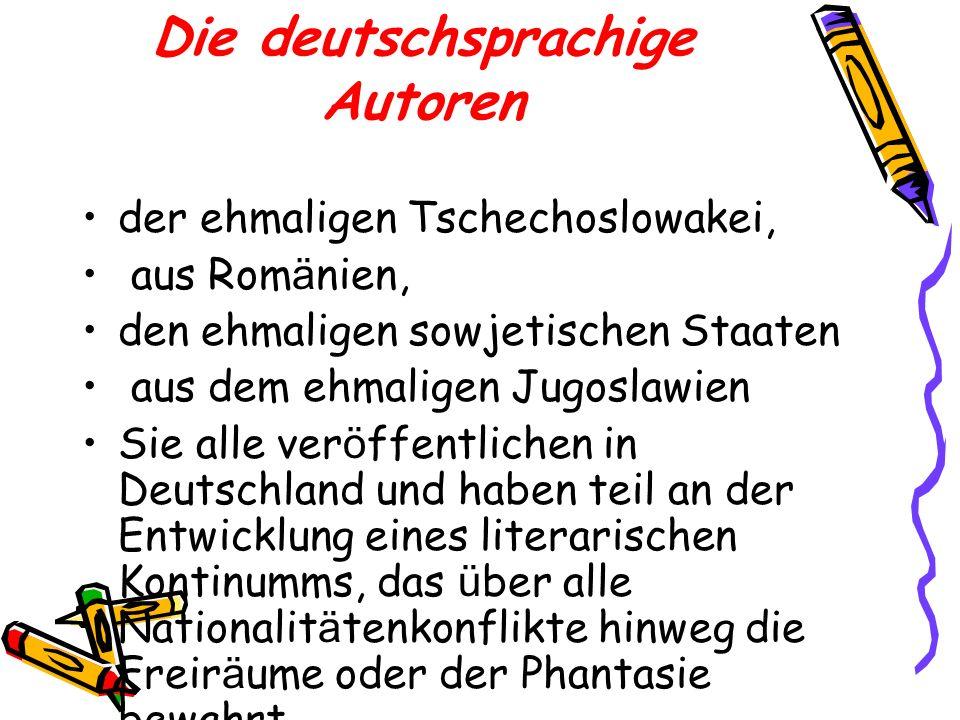 Die deutschsprachige Autoren