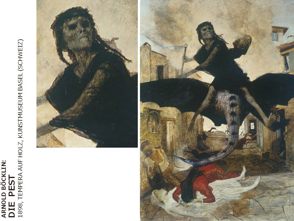 DIE PEST 1898, TEMPERA AUF HOLZ, KUNSTMUSEUM BASEL (SCHWEIZ)