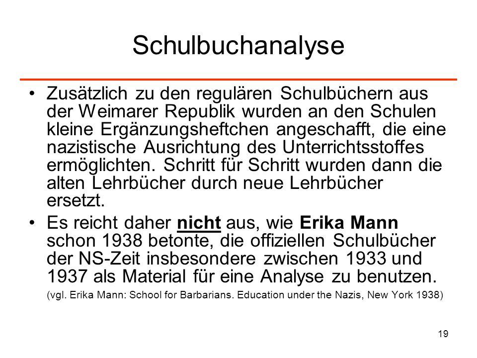 Schulbuchanalyse