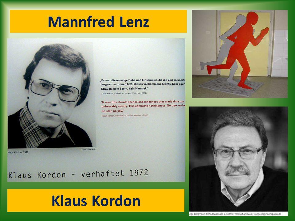 Mannfred Lenz Klaus Kordon