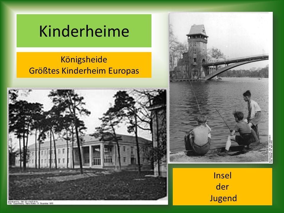 Größtes Kinderheim Europas