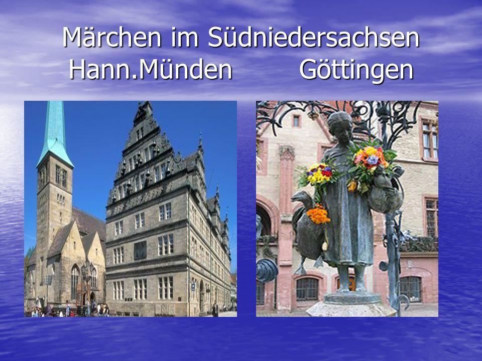 Märchen im Südniedersachsen Hann.Münden Göttingen